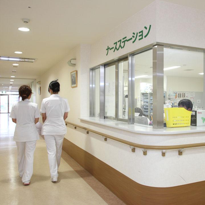 主要な診療科が揃う総合病院について